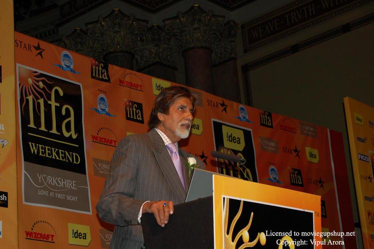 Amitabh Bachchan - save our planet