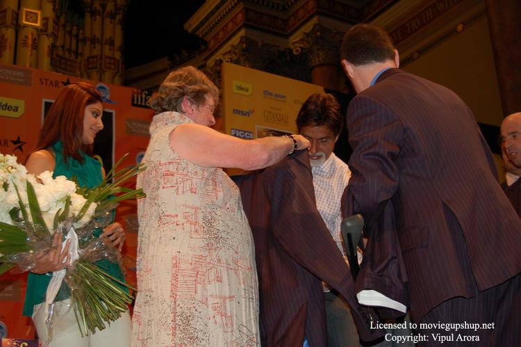 Amitabh Bachchan wearing a new Jacket