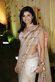 Prachi Desai at Vivek Oberoi and Priyanka Alva wedding reception