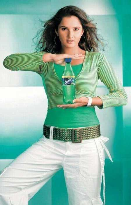 Sania Mirza in Sprite Advertisement
