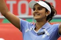 Indian tennis ace Sania Mirza