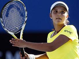 Sania Mirza top tennis player of india