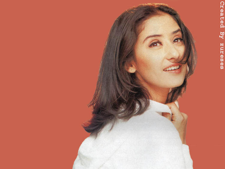 Manisha Koirala sweet wallpaper
