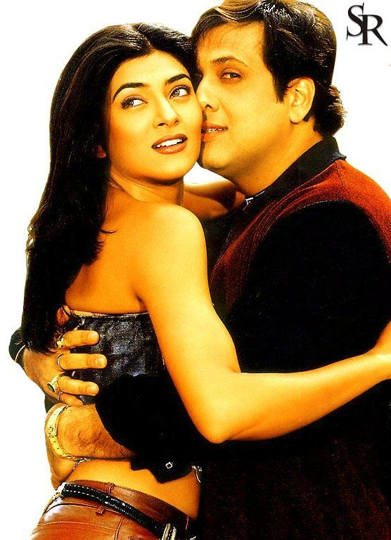 Govinda and Sushmita kiss still