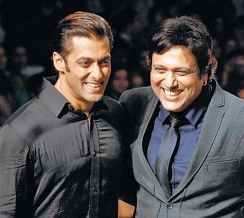 Govinda and salman smilling still