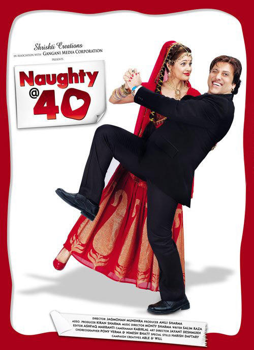 Govinda at Naughty Poster