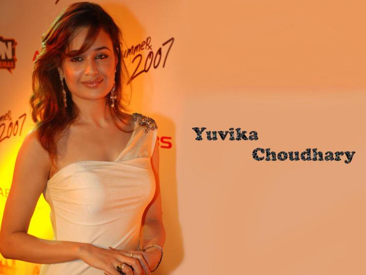 Yuvika Choudhary gorgeous wallpaper