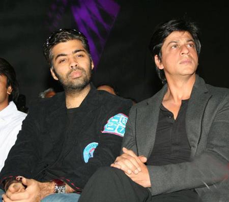 Shah rukh khan is like elder brother says karan johar