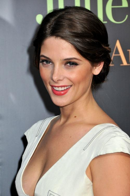 Ashley Greene hot cleavages show