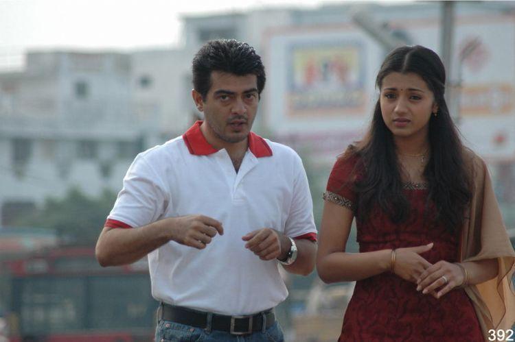 Ajith,Trisha Poorna Market  movie still