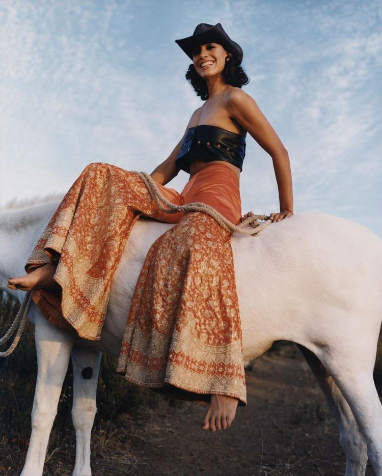 Jennifer beals hot stills with horse