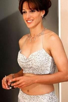 Jennifer beals white top dress in glamor pictures