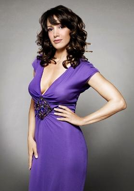 Jennifer beals blue color dress sexy still