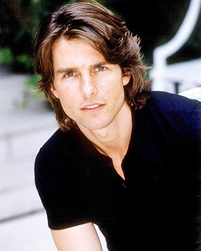 Actor Tom Cruise hairstyle pic