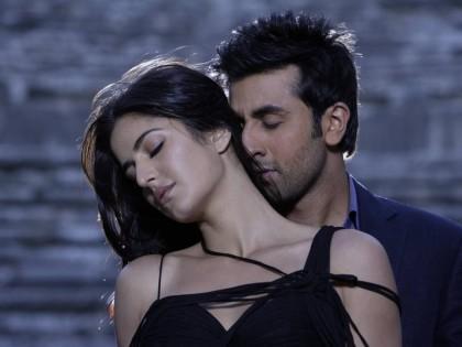 Katrina Kaif and ranbir kapoor kiss still
