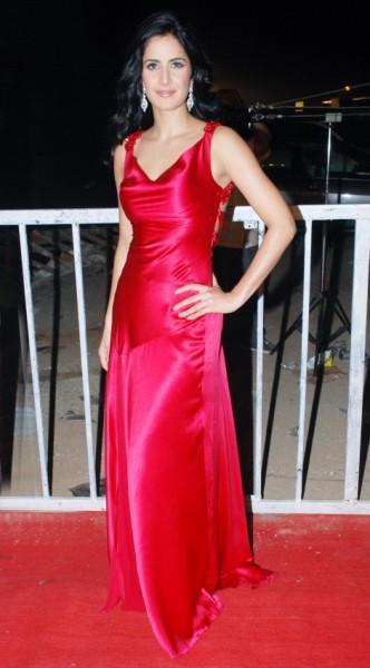 Katrina Kaif red gown latest photo