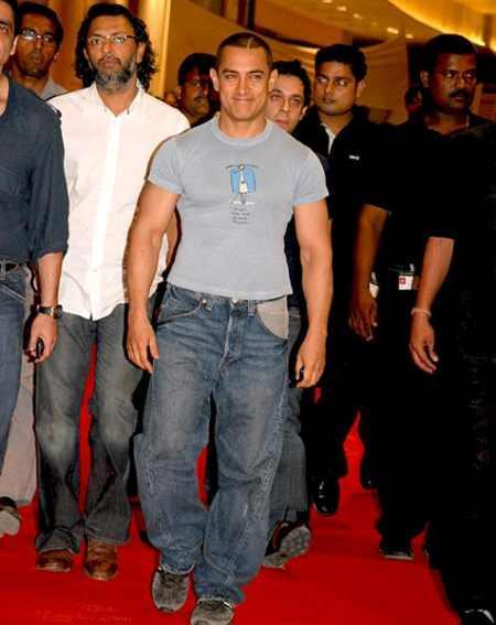 Aamir Khan hot body