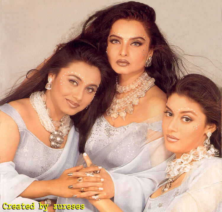 Rekha and Rani hot wallpaper