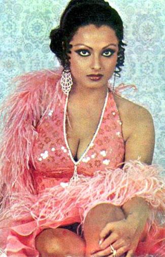 Rekha bikini hot wallpaper