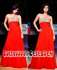 Dia Mirza dubai fashion week z for z