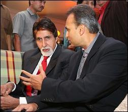 Anil Ambani talk with Big B