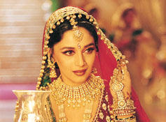 Madhuri Dixit traditional indian look