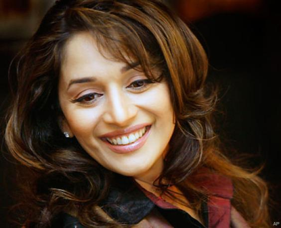 Madhuri Dixit cute smile and face picture