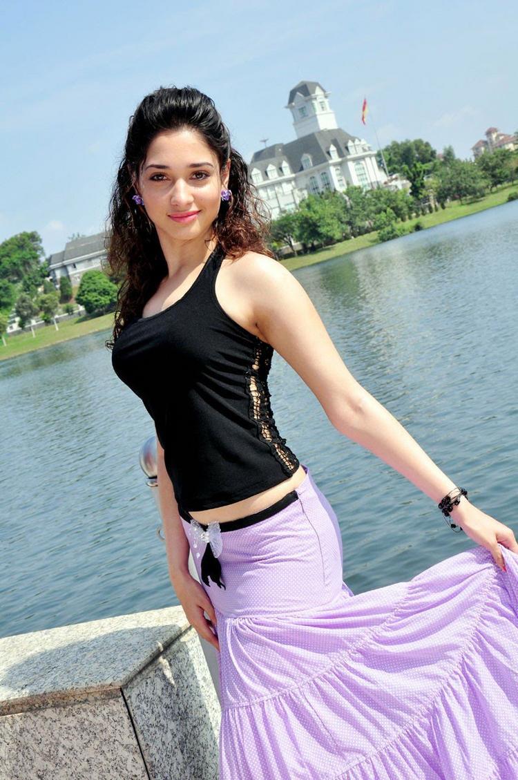 Vengai movie Tamanna hot Stills
