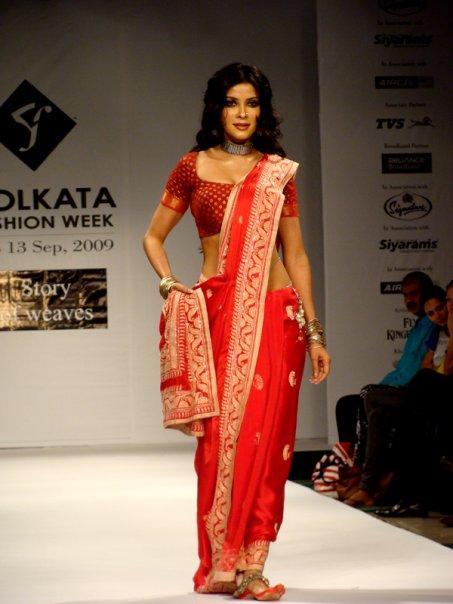 Nandana Sen in Kolkata Fashion Week