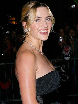 Kate Winslet sleeveless dress glamour still