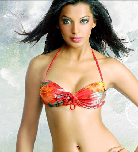 Mugdha Godse bikini sexy wallpaper