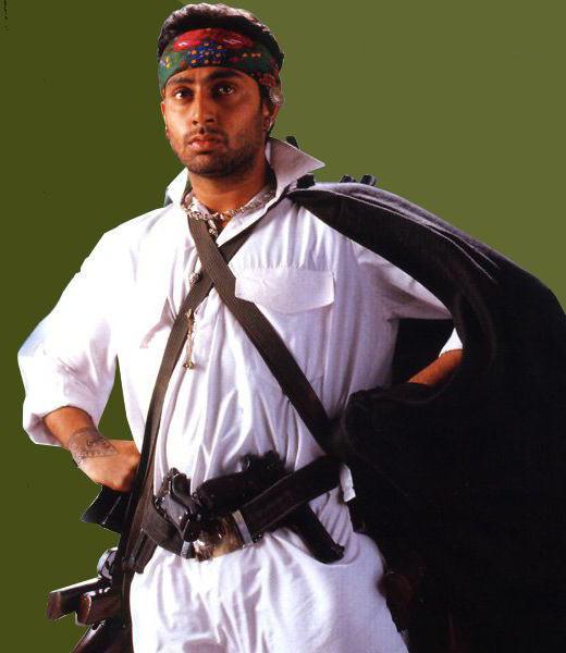 Abhishek Bachchan action still wallpaper