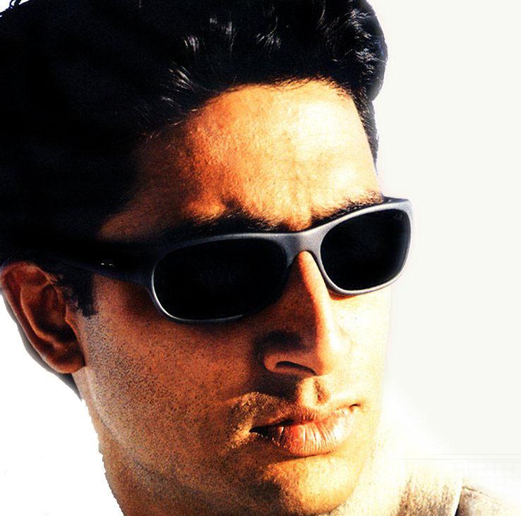 Abhishek Bachchan hot look wearing goggles