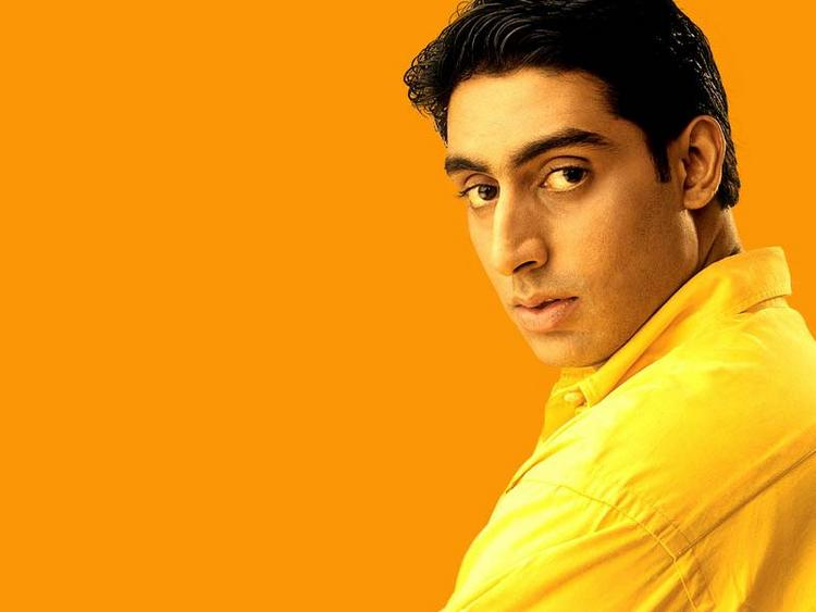 Abhishek Bachchan yellow shirt wallpaper