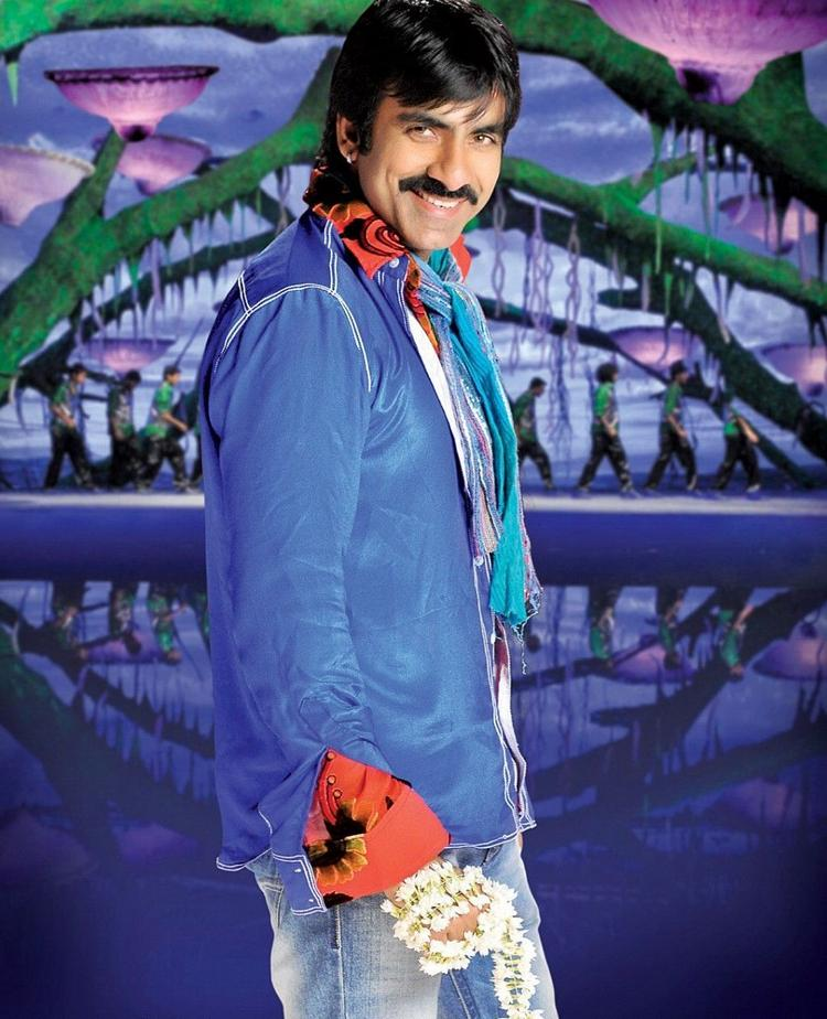 Veera movie ravi teja romantic stills