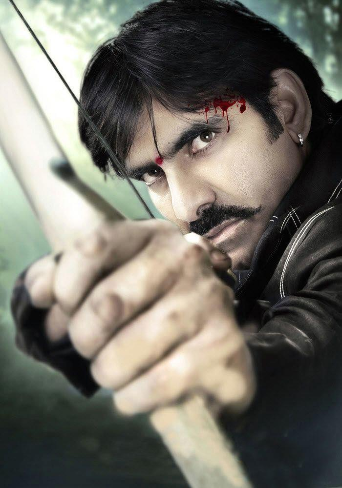 Veera movie ravi teja hot action stills