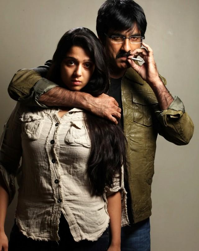 Dongala Muta Telugu movie Ravi Teja cigarette still