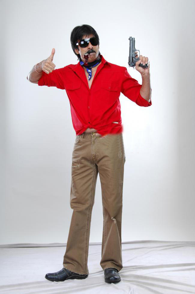 Ravi teja red shirt filmography