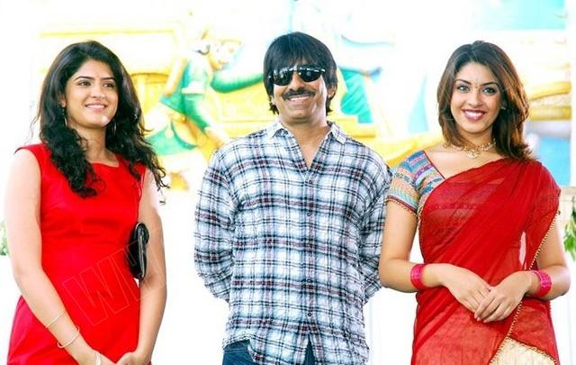 Ravi teja at Mirapakaya audio release