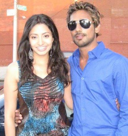 Varun Sandesh,Anita Galler  latest glamour still