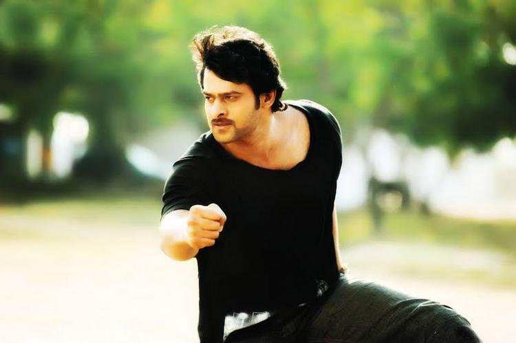 Darling prabhas action picture