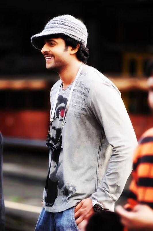 Prabhas Darling cute smile hat still