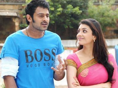 Mr Perfect Prabhas and kajal cute pics