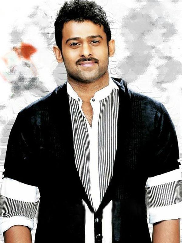 Prabhas hot stylist look