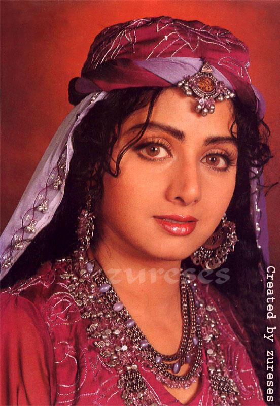 Sri Devi Glazing eyes wallpaper