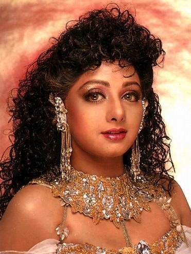 Glam Girl Sri Devi curly hair wallpaper