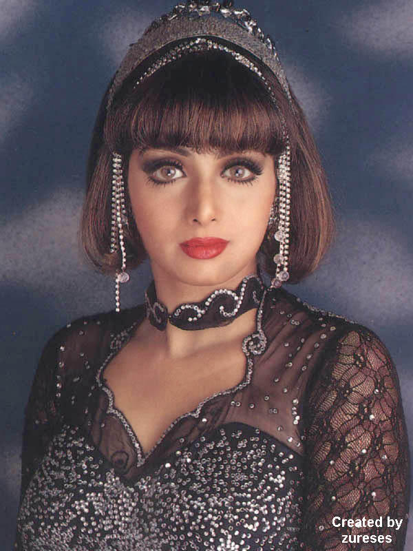 Sri Devi latest glamourous wallpaper