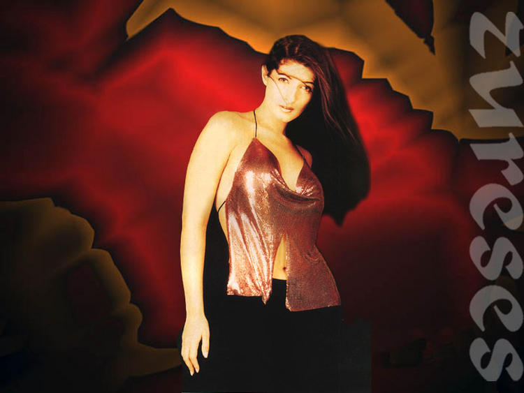 Twinkle Khanna bikini dress spicy wallpaper