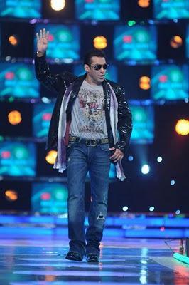 Salman Khan at The Launch Episode of Bigg Boss season 4