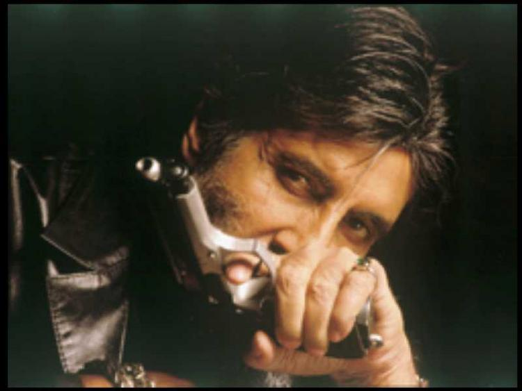 Amitabh Bachchan killer look in Kaante